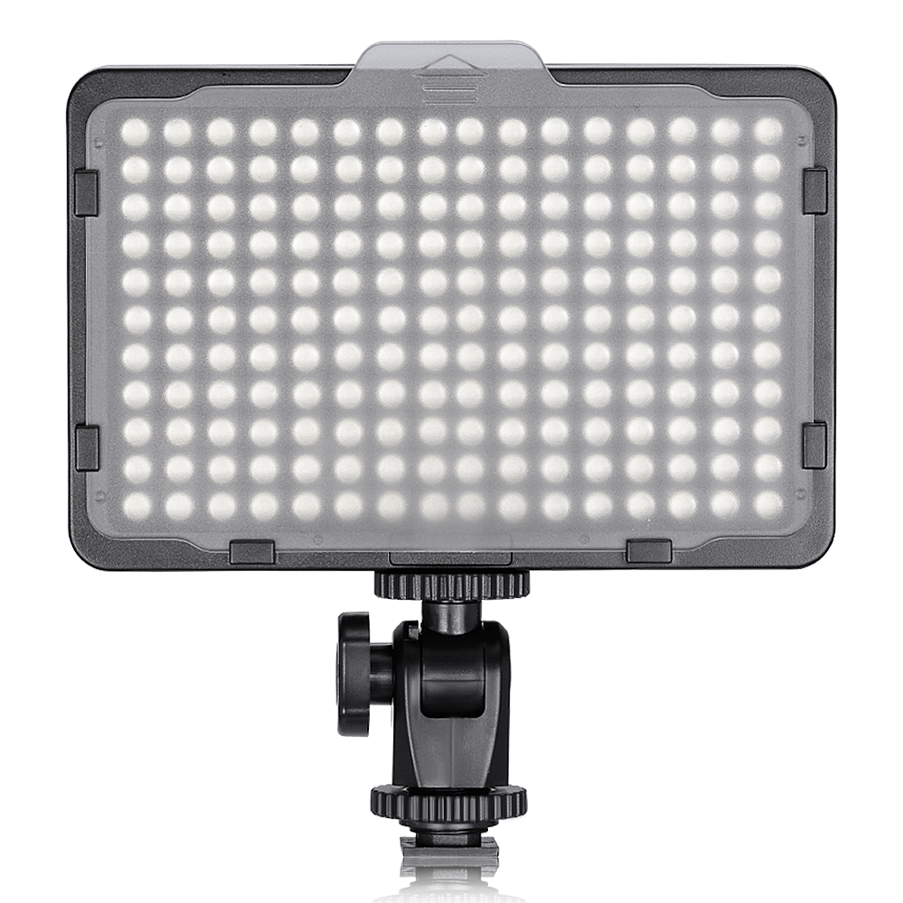 Neewer 176 LED 5600K Ultra Bright Dimmable on Camera Video Light
